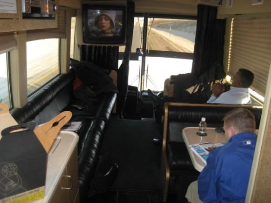 White_caravan_bus