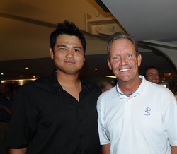 Bruce Chen and George Brett.jpg