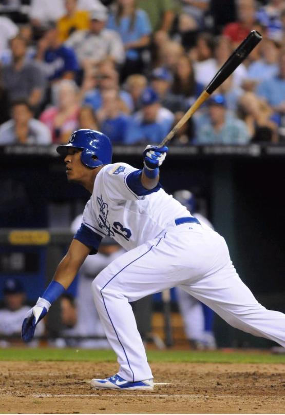 Salvador Perez makes his first All-Star team at age 23.