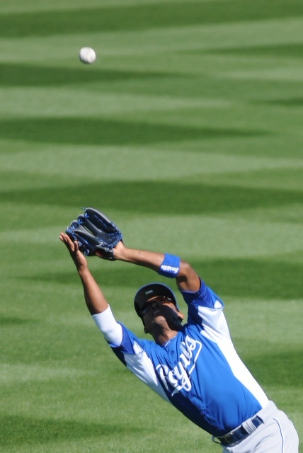 We'll give the gloves some love:  Here are Alcides Escobar and Mike Moustakas.