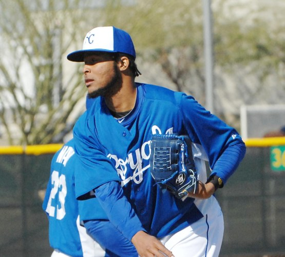 New Royal Ervin Santana.