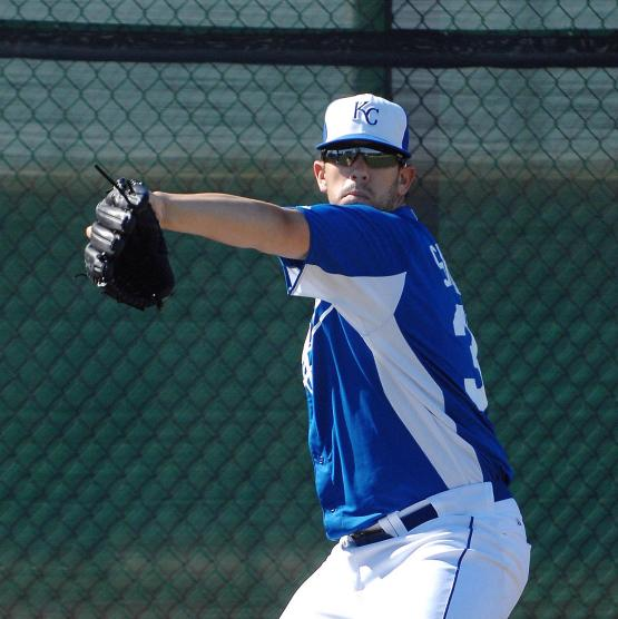 James Shields threw in a side session today.