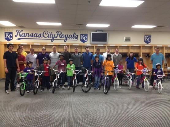 Royals bikes Dec 2013