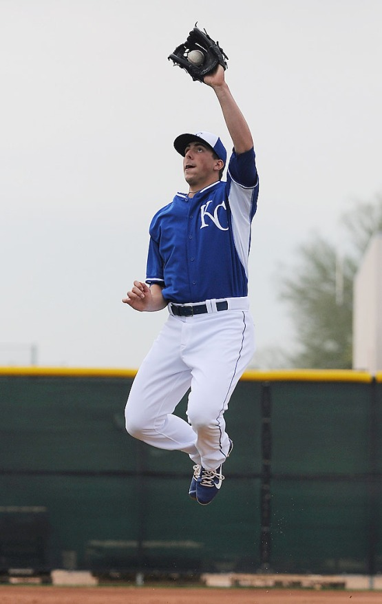 2012 first-round pick Kyle Zimmer goes vertical.