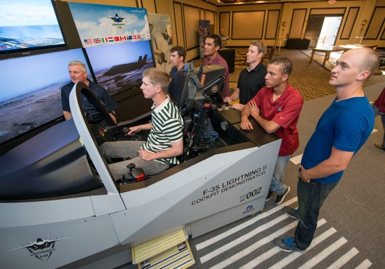 FP140573 F-35 Luke AFB KC Royals at Sim