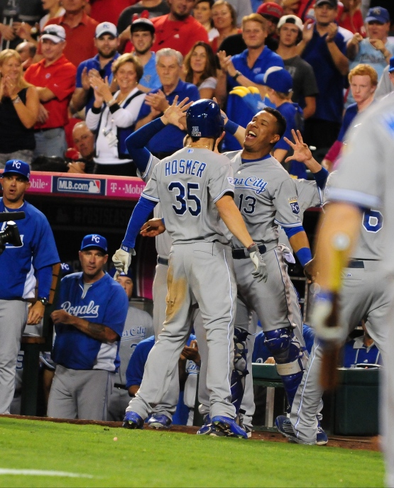 Royals Divison Postseason 2014 vs Angels