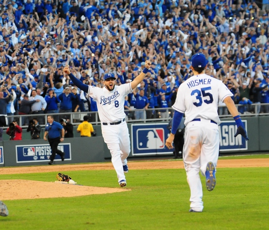 Orioles-Royals ALCS  at Kauffman Game 4